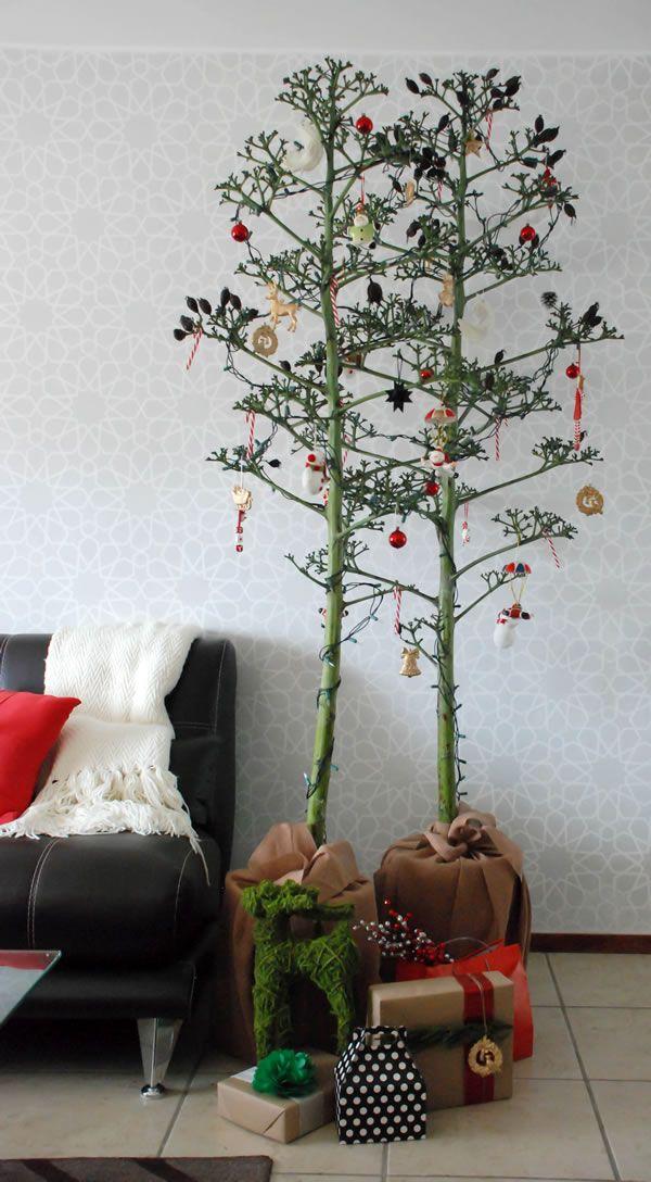 Arbol de navidad de quiote casa haus home decor - Arbol navidad moderno ...