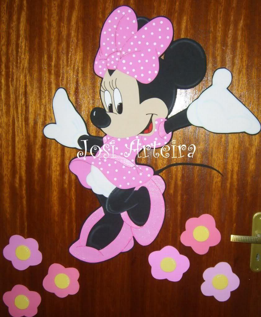 Minnie com moldes ocultos de web | tarecaartes | manualidades ...