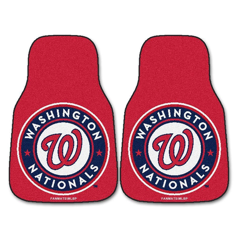 Washington Nationals MLB Car Floor Mats (2 Front)
