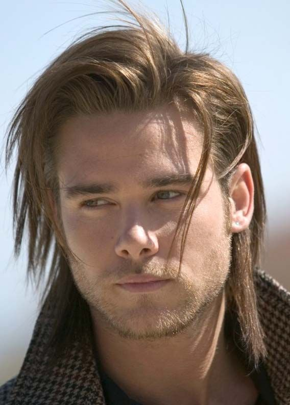 12 Best Long Straight Hairstyles For Men In 2019 Mens
