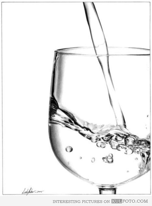 Pouring Water Into Glass Drawings Pictures 4027 Art