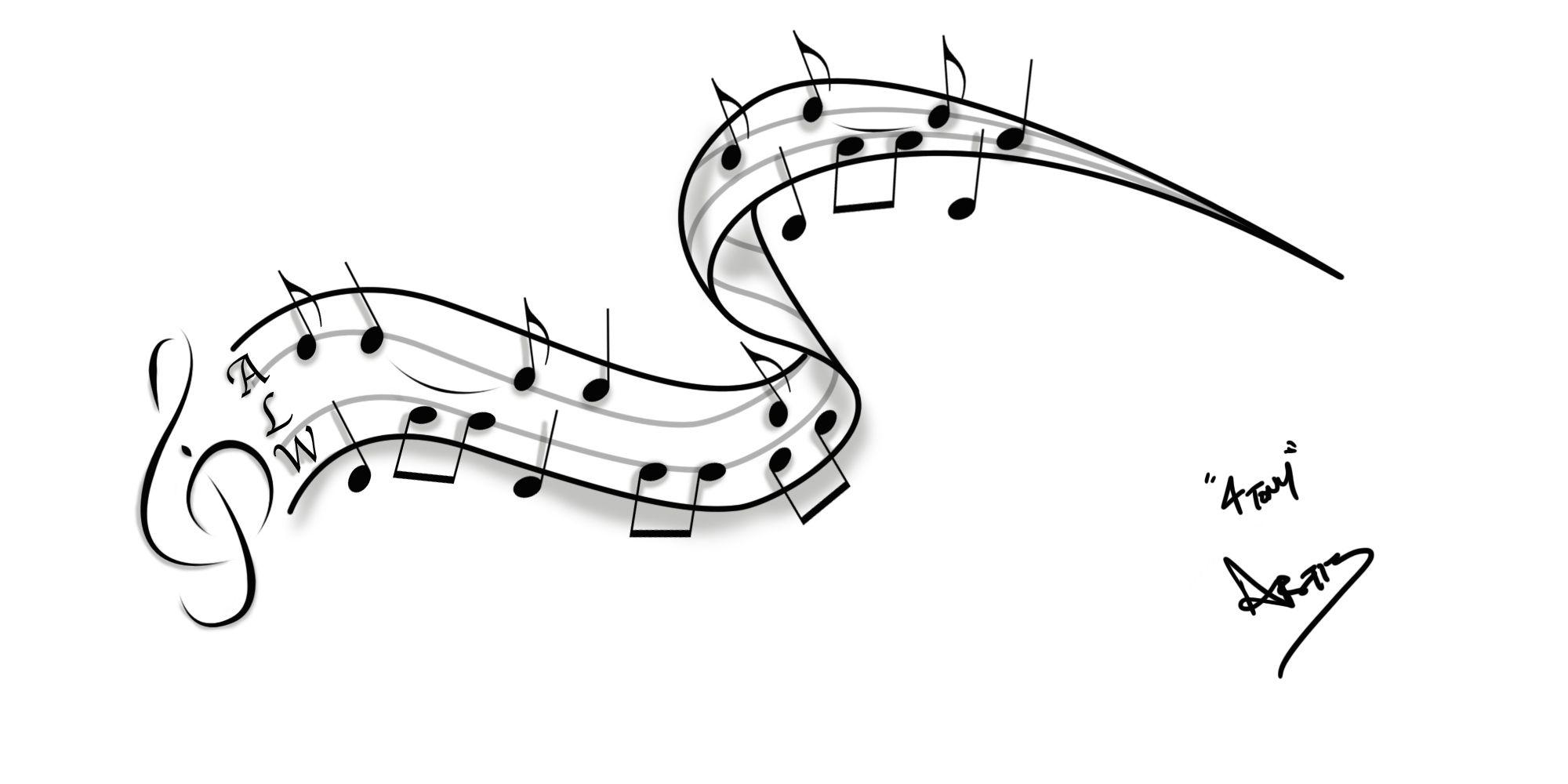 Sheet Music Tattoo