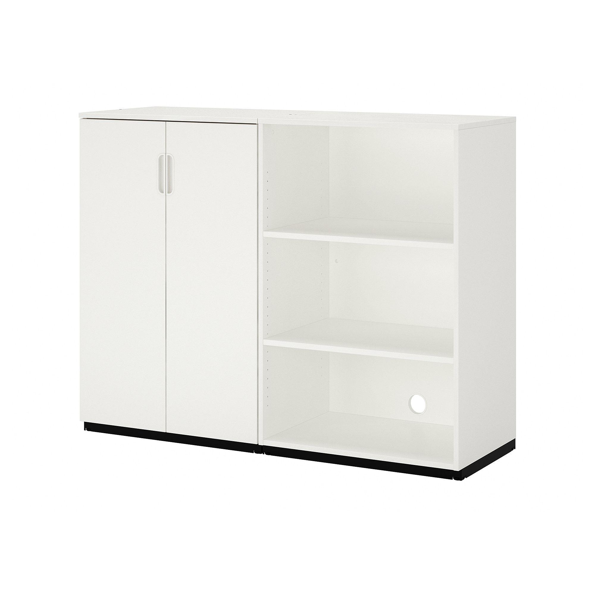 Galant Combinaison De Rangement Blanc 160x120 Cm Ikea En 2020 Meuble Rangement Rangement Ikea