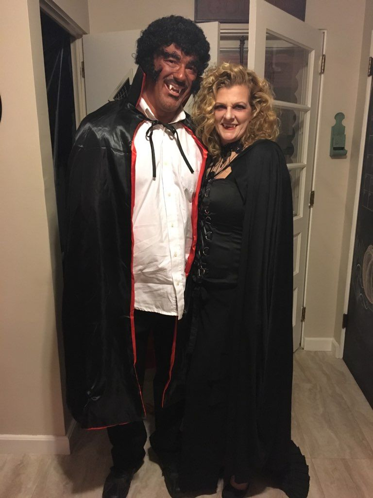 Blacula And His Mistress Halloween Costumes Fashion Academic Dress