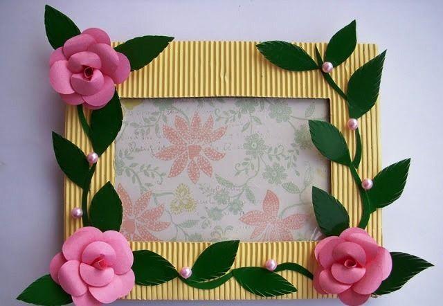 Handmade Photo Frame Craft Project