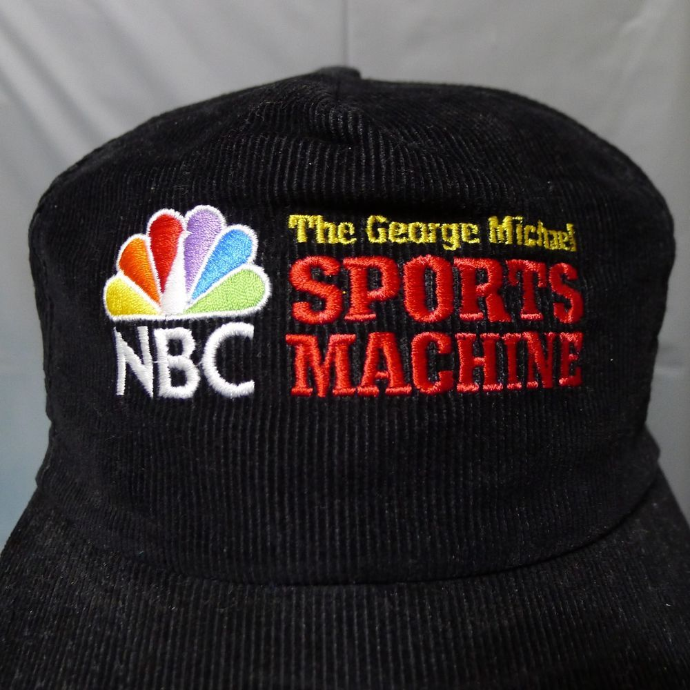 Michael Sports Machine NBC Corduroy Adj. Hat Black