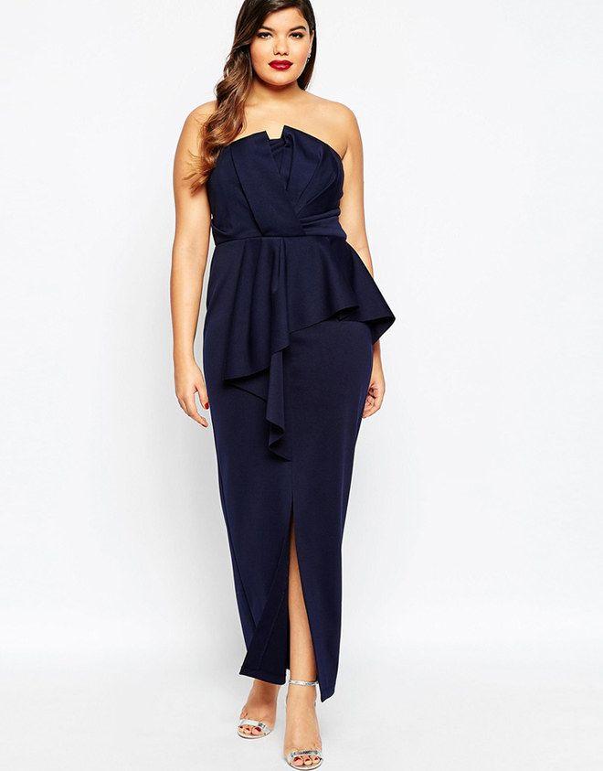 Gli abiti da cerimonia per taglie forti sono quei vestiti eleganti che  potresti indossare ai matrimoni 734c532ae44