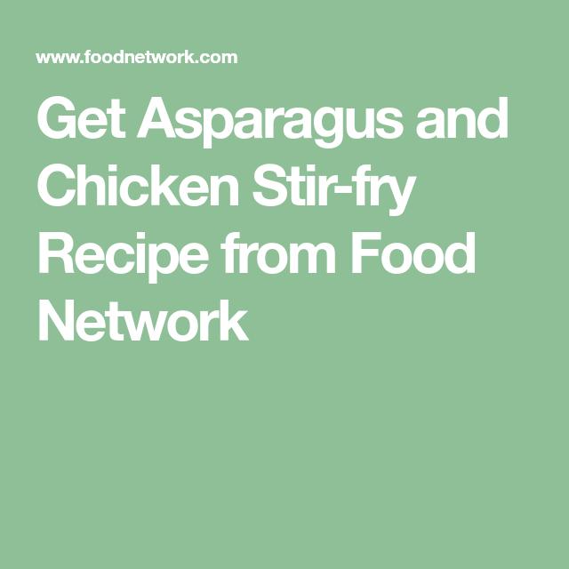 Asparagus and chicken stir fry receta forumfinder Gallery