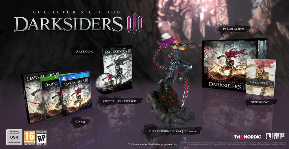 Darksiders Iii Collector S Edition For Xbox One Gamestop With
