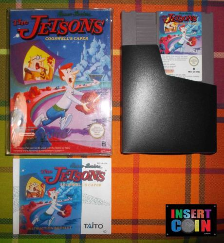 Juego Nintendo Nes The Jetsons Cogswell S Caper Pal B Nes