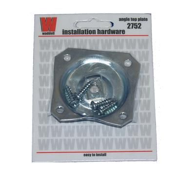 alexandria moulding metal hardware angle top plate 02752 00cb home depot furniture legstable