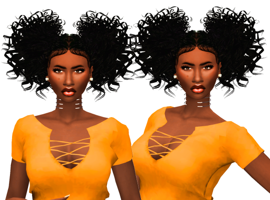 Sims 4 CC's - The Best: Hair by Simblr in London