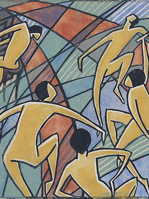 DORRIT BLACK (1891/1951), PITTRICE MODERNISTA AUSTRALIANA – La donna che ha cercato di dipingere in stile cubista - Meeting Benches