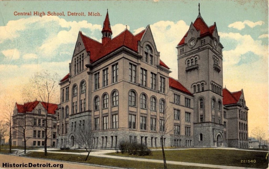 On this date 121 years ago, cornerstone was laid for Central High School in #Detroit -- but you probably know it as Old Main