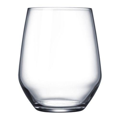 Flot Glas IVRIG klart glas | Bolig | Ikea, Vin og Drikkeglas FJ-27