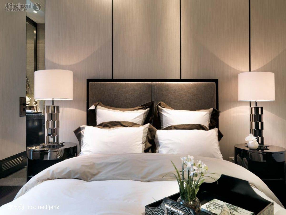 Master Schlafzimmer Moderne Nussbaum Eitelkeit Badezimmer