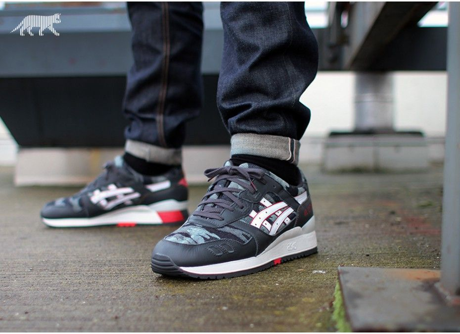 great fit 857d9 1d59b ASICS Gel Lyte III Grey Camo   The Sole Supplier
