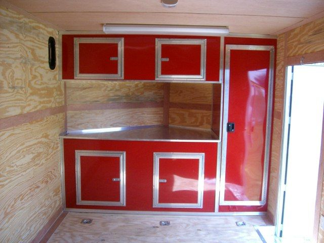 39++ Wall cabinets for enclosed trailer inspiration