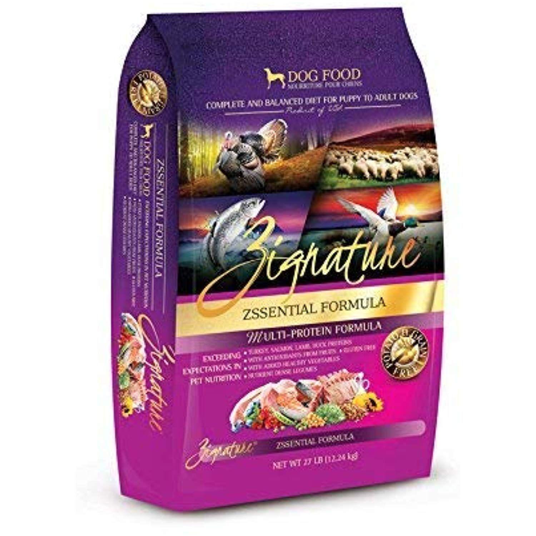 Zignature Zssential Formula Dry Dog Food 27 Pound Bag For All