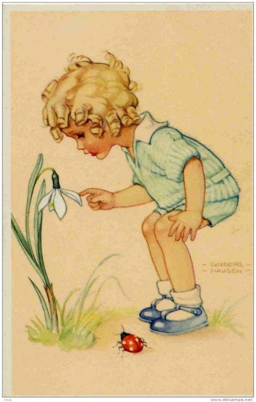 Поздравление пограничникам, немецкие открытки с детьми