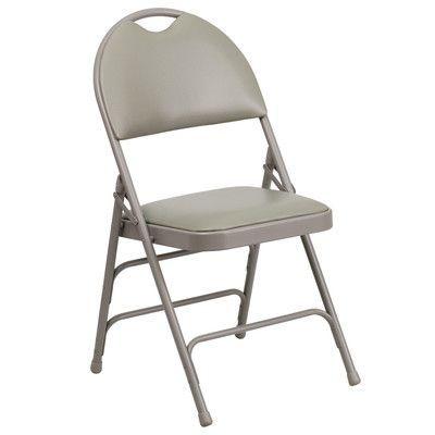 Pin By Lisa Vu On Furniture Metal Folding Chairs Folding Chair Padded Folding Chairs
