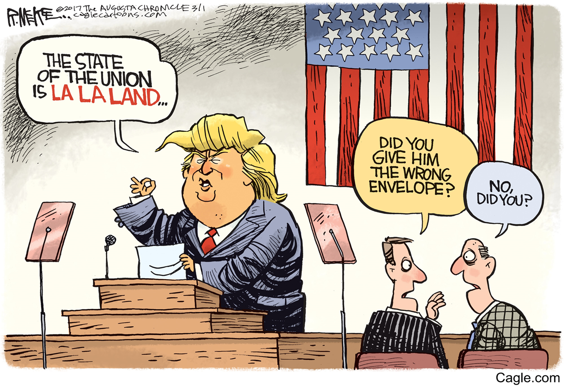 Image result for trump making no sense when speaking cartoons