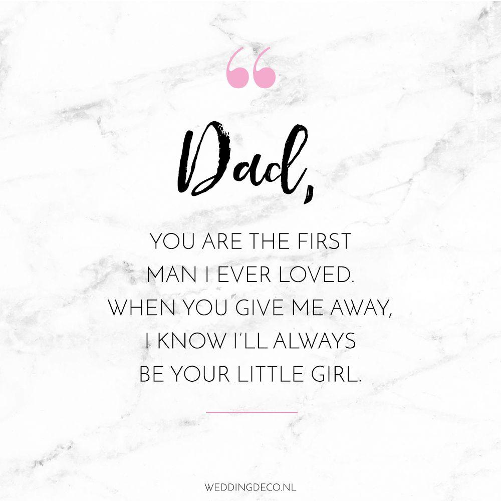 Download Dad quote   Papa citaten, Mama gezegden, Trouwdag citaten