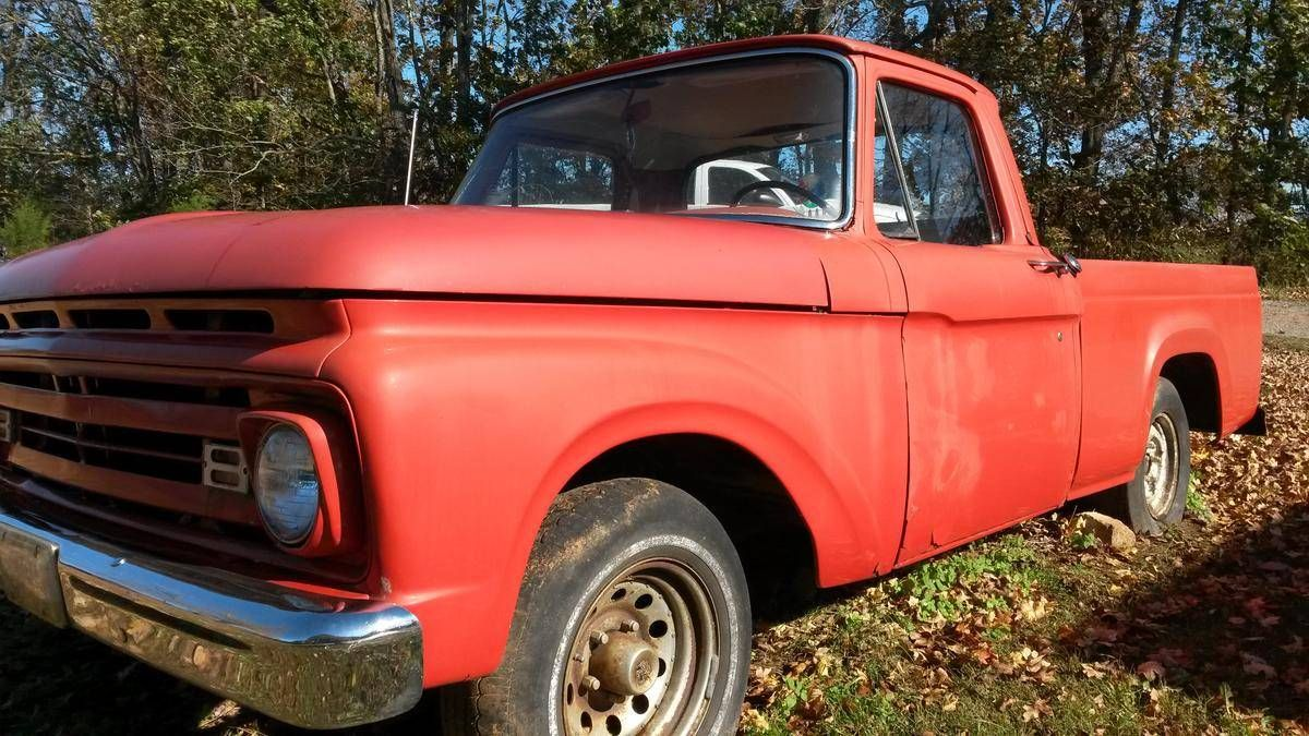 Affordable Classic 1963 Ford F100 For Sale Today You Can Get Great ...