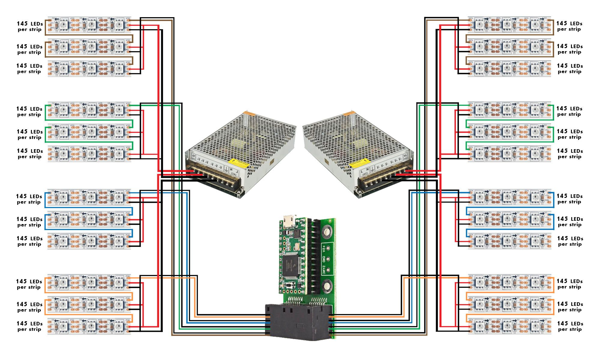 Led Panel Wiring