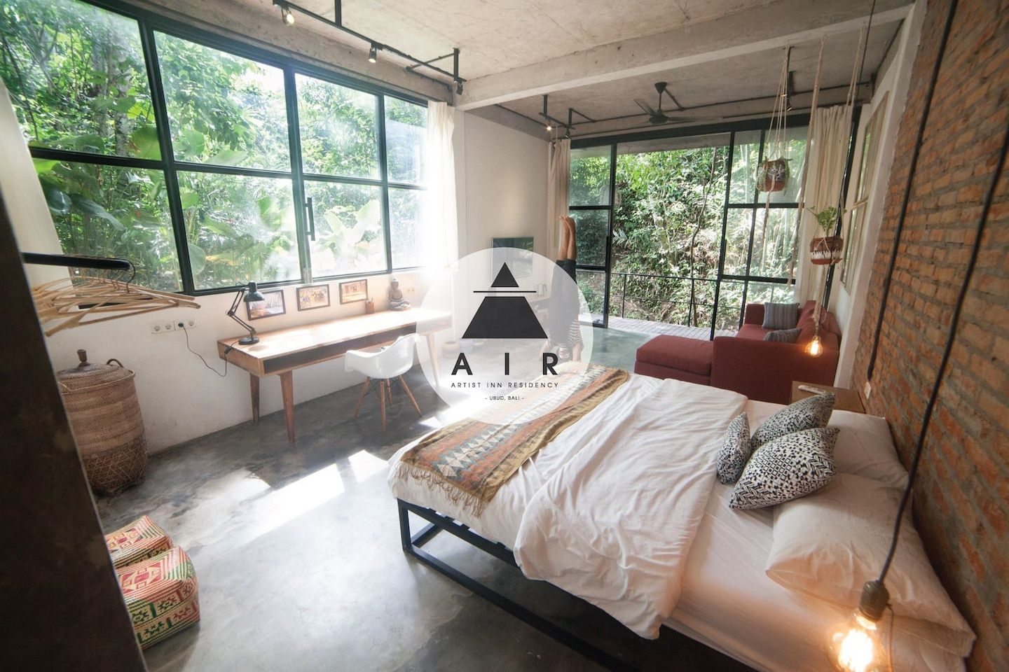 River View Room in Artist Residency 1 Bed and