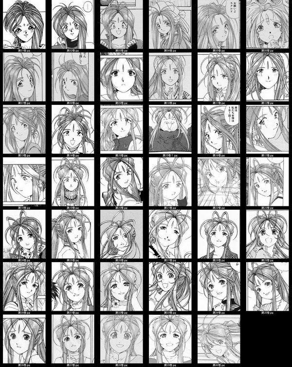 Ah! My Goddess megami-sama VSA Manga Evolution