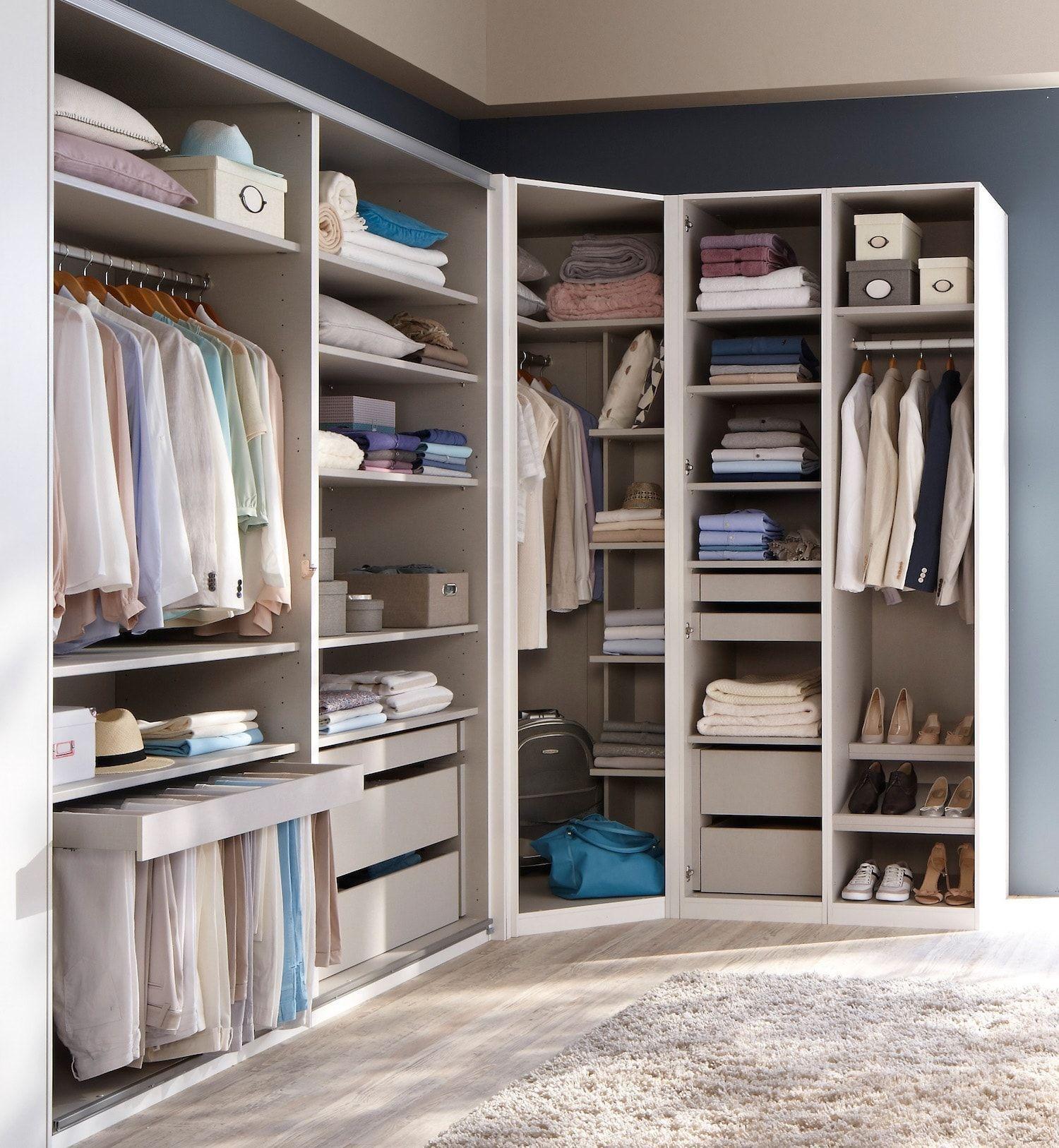 Conforama Eckgarderobe In 2020 Dressing Room Mirror Bedroom Closet Design Closet Layout