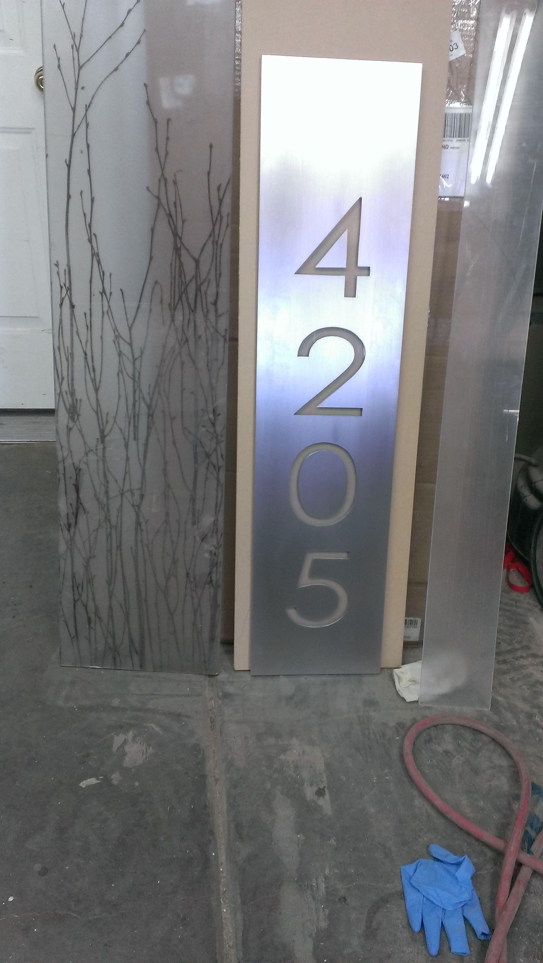 Really Cool Address Sign Address Sign Address Plaque Address