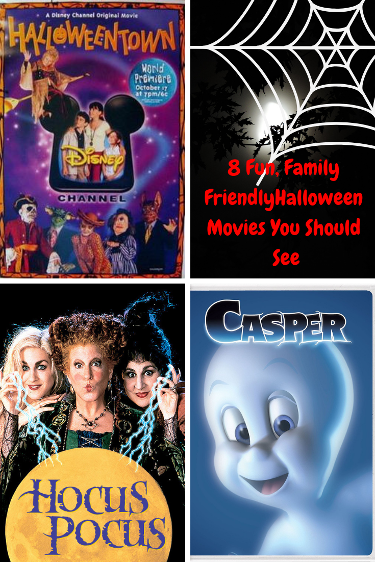 8 of the best fun, spooky, family friendly halloween movies to watch