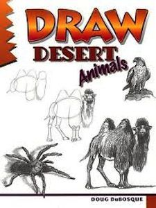 Draw Desert Animals Step By Step Instructions On How To Draw Desert