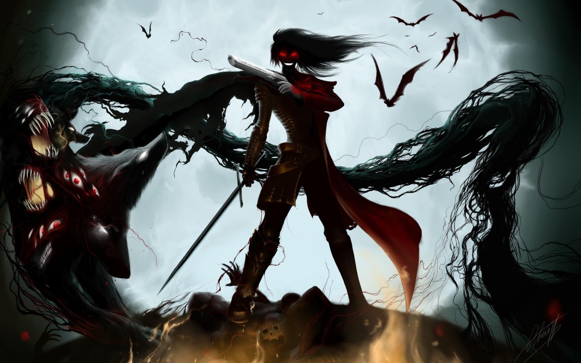 Free Download Best Anime Wallpaper Pageresource Com Hellsing Alucard Alucard Hellsing