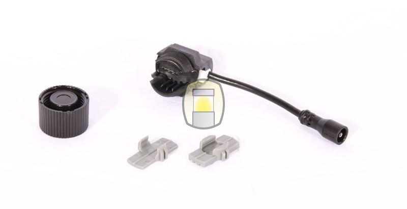 In Lite Easy Lock zwart   Tuinverlichtingswinkel.be De armaturen van In-Lite zijn makkelijk aan te sluiten.  Dit gebeurt door middel van een zogenaamde Easy lock.