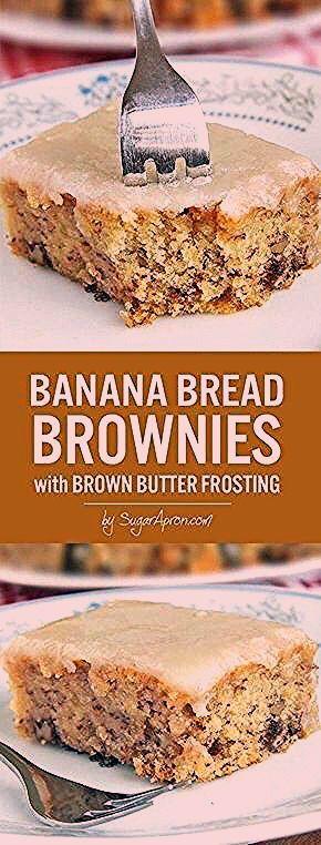 Photo of Banana Bread Brownies – Sugar Apron