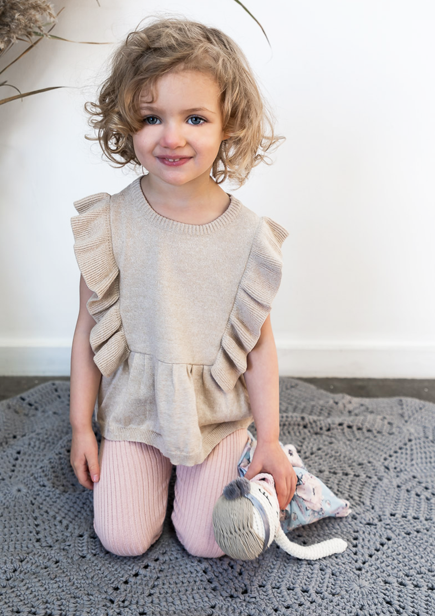 b12d48669f46 how cute does our new natural frill knit top look, in the softest 100%