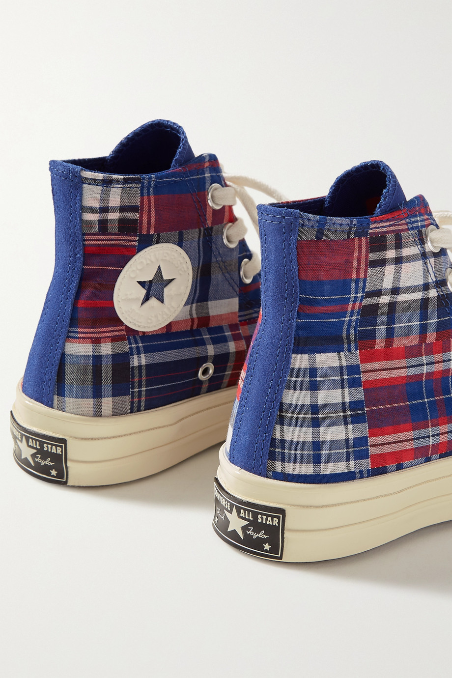 Converse   Twisted Prep Chuck 70 checked canvas high-top sneakers ...