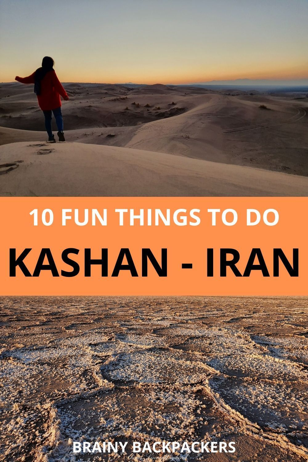 Are you planning a trip to Iran? Kashan should be on your Iran Itinerary for sure! Here are 10 fun things to do in and around Kashan. #middleeasttravel #irantraveltips #kashantravel #visitiran #touristiniran #traveliran #kashantraveltips #traveltips #offthebeatenpath #responsibletourism #brainybackpackers #travel #asia #westernasia