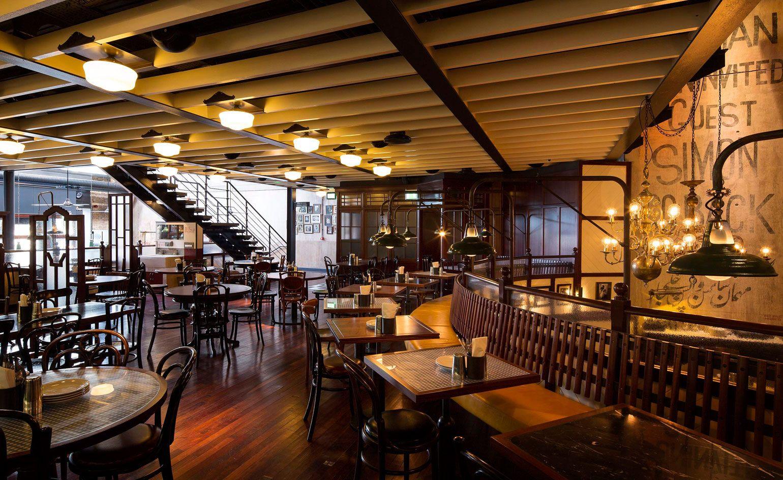 Dishoom Carnaby — London, UK Restaurant interior design