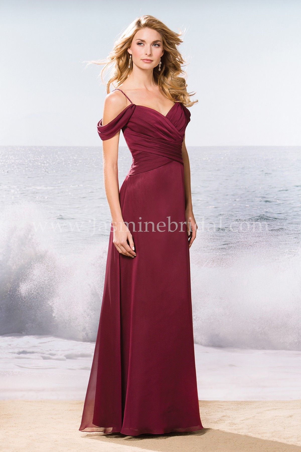 Jasmine bridal bridesmaid dress belsoie style l174057 in cranberry jasmine bridal bridesmaid dress belsoie style l174057 in cranberry versatility and elegance come together ombrellifo Choice Image
