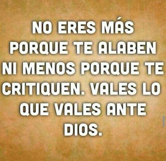 Tú valor Está en Manos de Dios