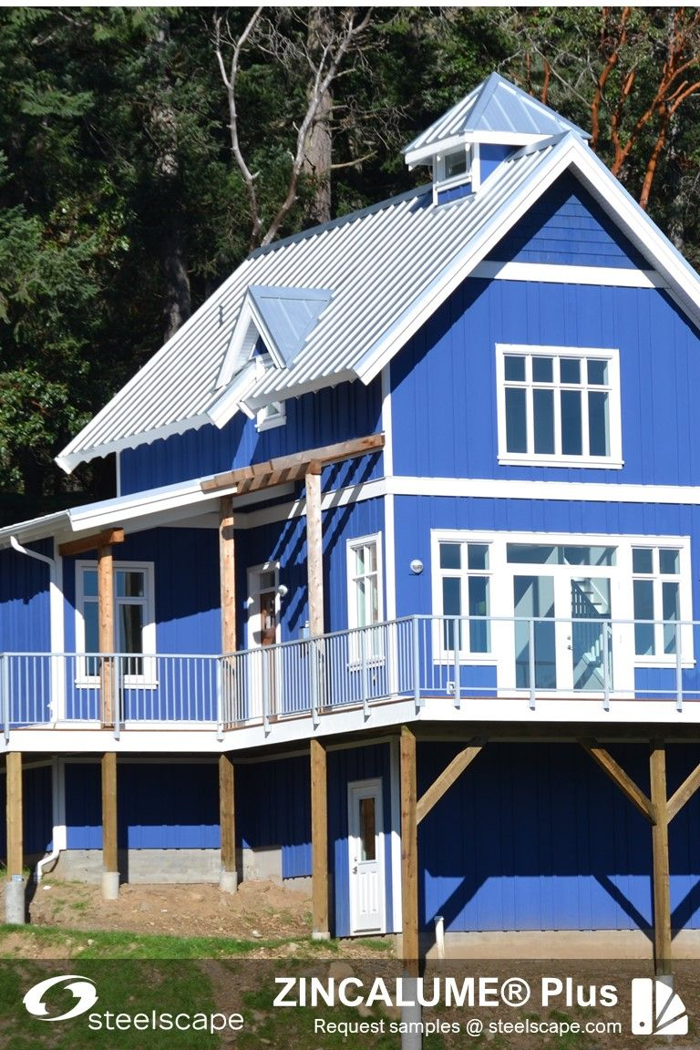 Metal Roof And Siding Inspiration In 2020 Metal Roof House Styles Steel