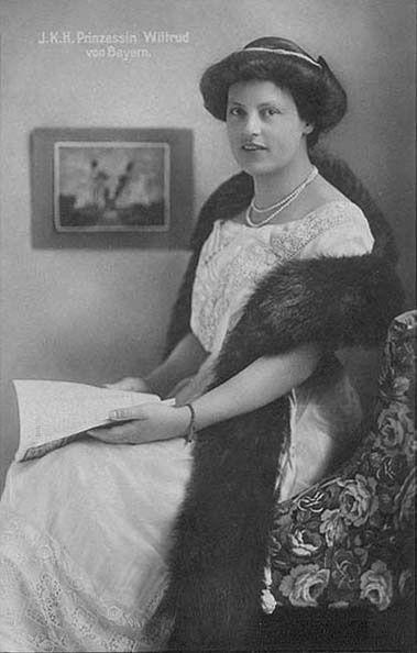 Princesse Wiltrud de Bavière (1884-1975) duchesse d'Urach