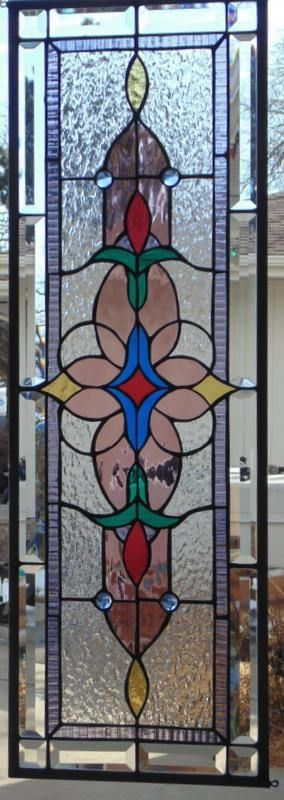 Stained Glass Window Hanging 36 X 12 Faux Stained Glass Stained Glass Window Hanging Stained Glass