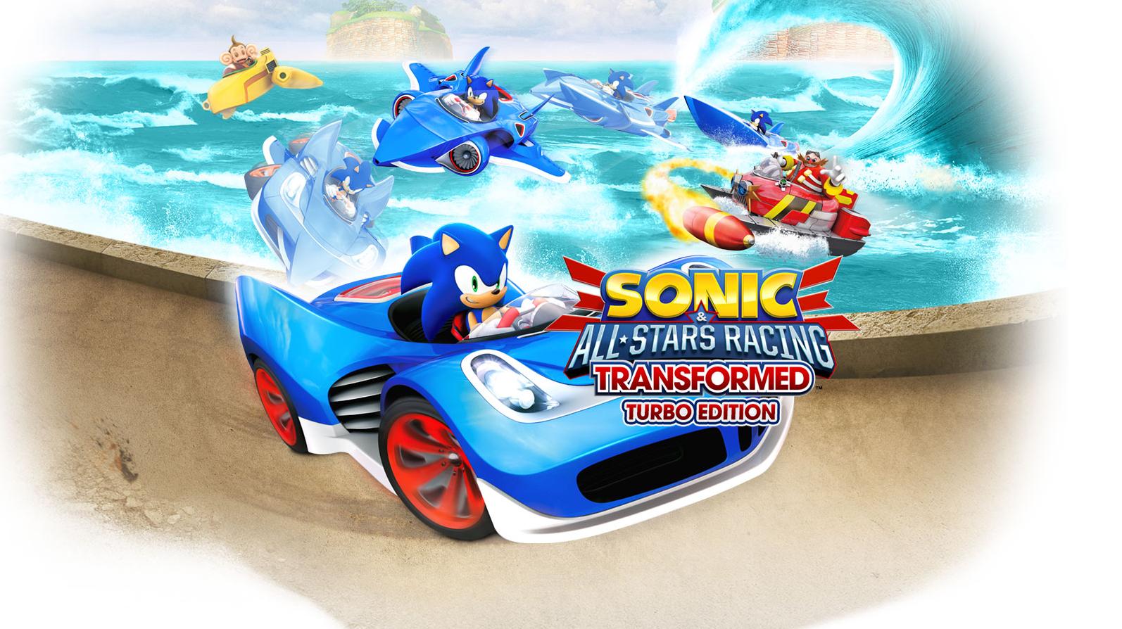Sonic All Stars Racing Transformed Turbo Edition Speeds Towards Nintendo Switch Sonic Retro Big The Cat Sonic Racing