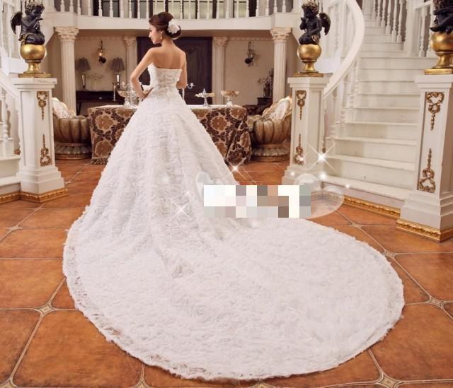 Barato Noivas Vestidos de noiva espartilho romântico Vestidos escova trem longo vestido de baile vestido de noiva estilo simples coreano, Compro Qualidade Vestidos de noiva diretamente de fornecedores da China:   [Xlmodel]-[Custom]-[11676]  [Xlmodel]-[Custom]-[11676]   Describtion          Tamanho        EUA Tamanho        Busto
