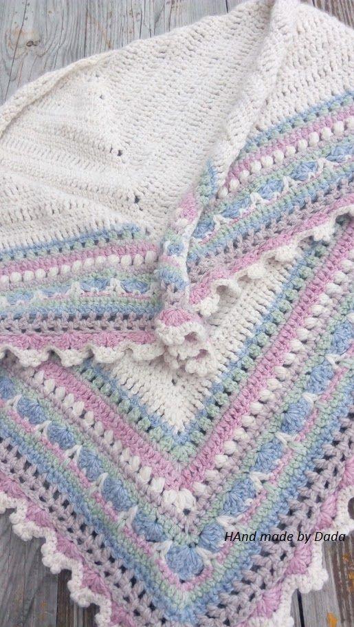 http://www.ravelry.com/patterns/library/sunday-shawl | Šatky, shawl ...